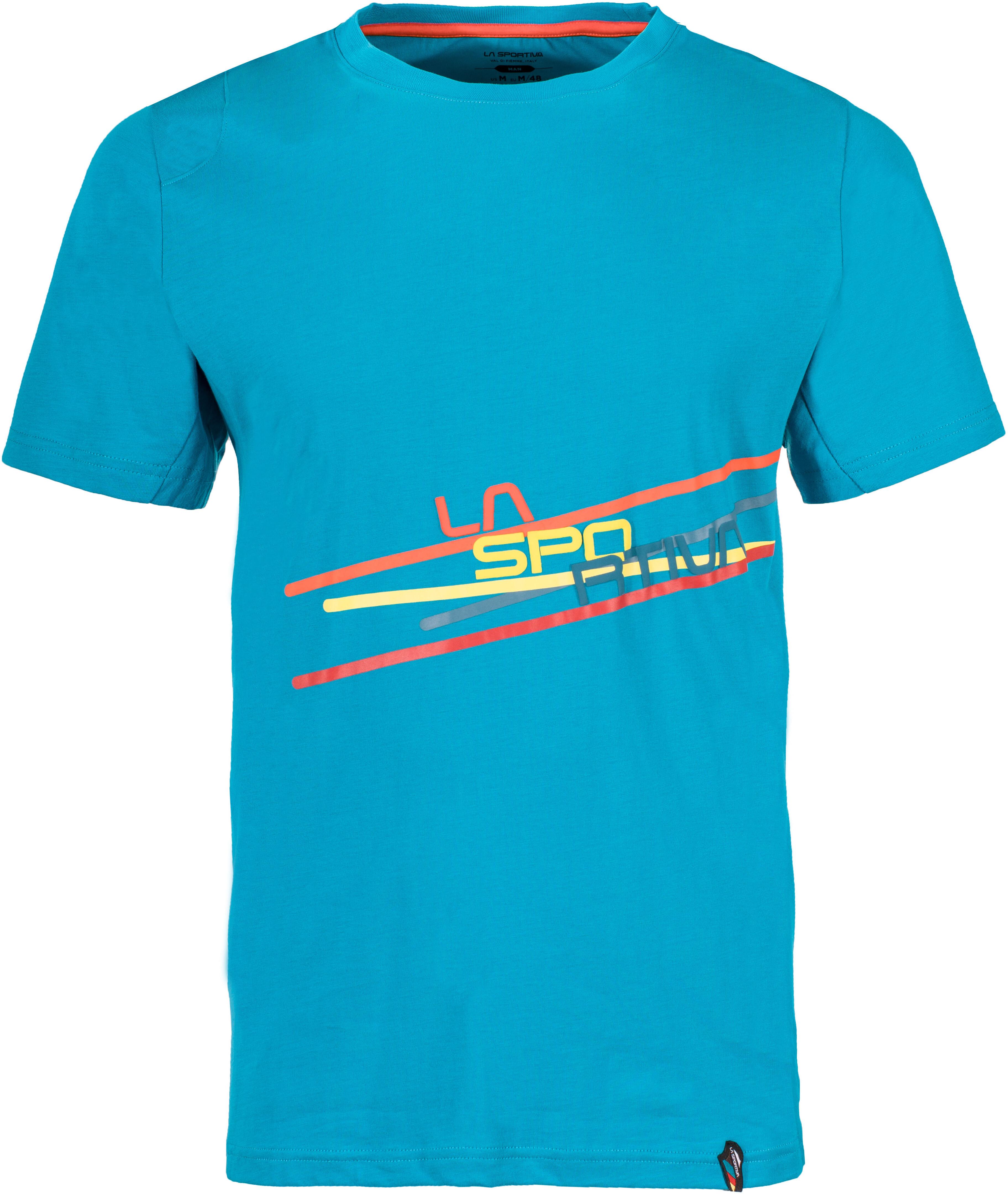 2469f68eb509a La Sportiva Stripe 2.0 - Camiseta manga corta Hombre - azul
